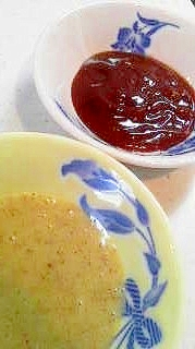 チキンナゲットソース2種♪ハニーマスタード&BBQ