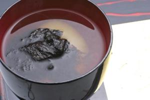 出雲の海苔雑煮~十六島海苔~