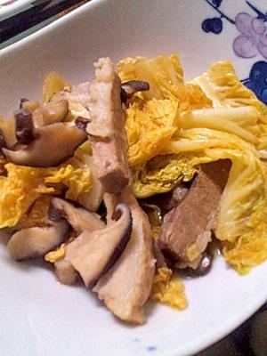 絶品☆☆☆豚かたまり肉&白菜の煮物