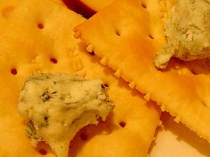 ブルーチーズのカナッペ