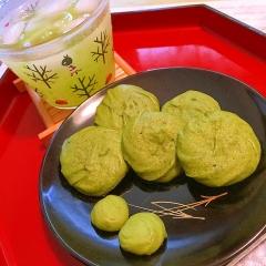 余った卵白で濃厚柚子抹茶ラングドシャ