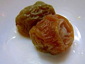 梅シロップの梅の再利用♪梅の甘露煮