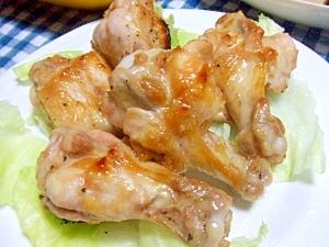 魚焼きグリルで!鶏手羽元のガーリック焼き