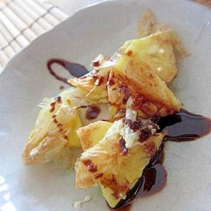 豆乳パイナップルマーガリン焼き