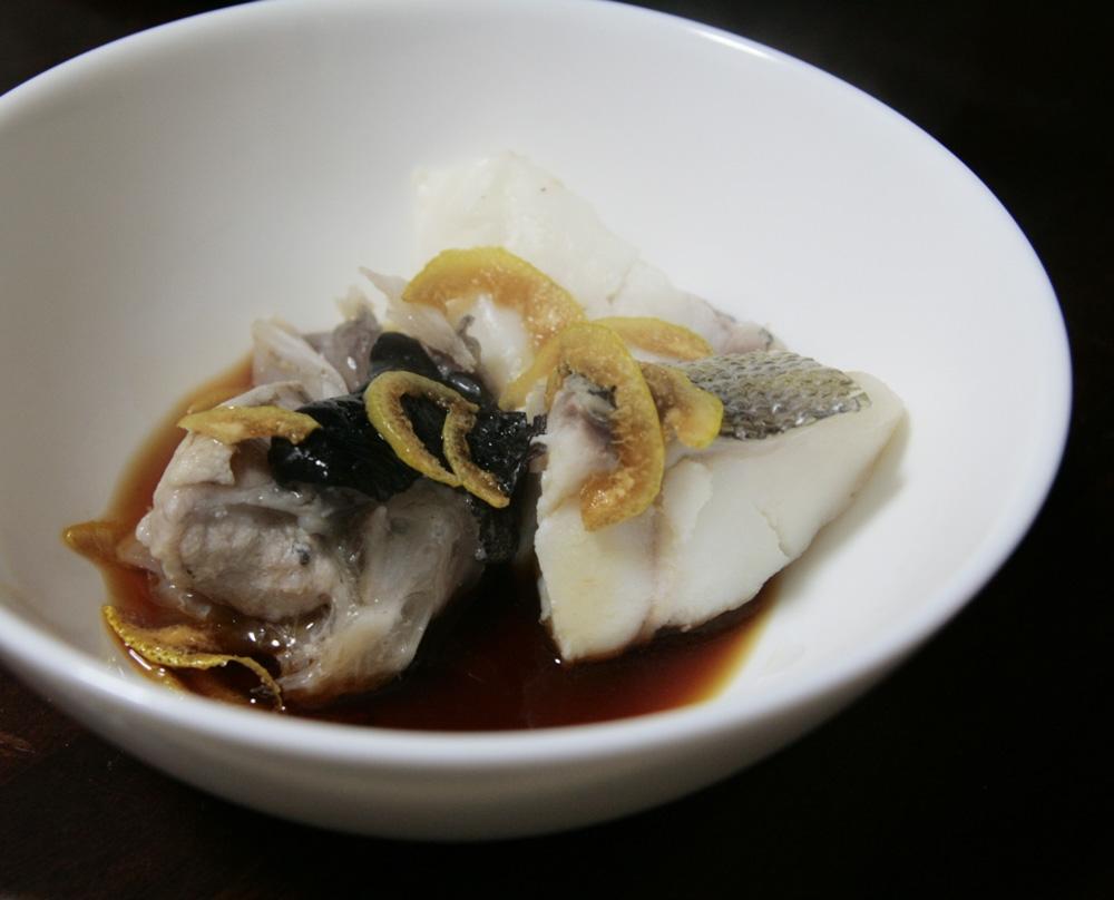 柚子でさっぱり!あんこうと鱈のお鍋