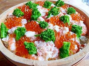 簡単美味な海鮮ちらし寿司
