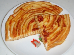 ぐるぐる♪見た目もかわいいパン耳フレンチトースト