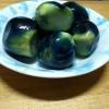 薄皮丸茄子のナス漬(ビン漬けの参考画像