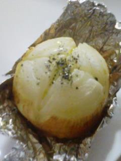 食べ方色々★新たまねぎの丸焼き