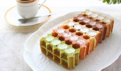 ワッフルサンドケーキ 5種【No.333】