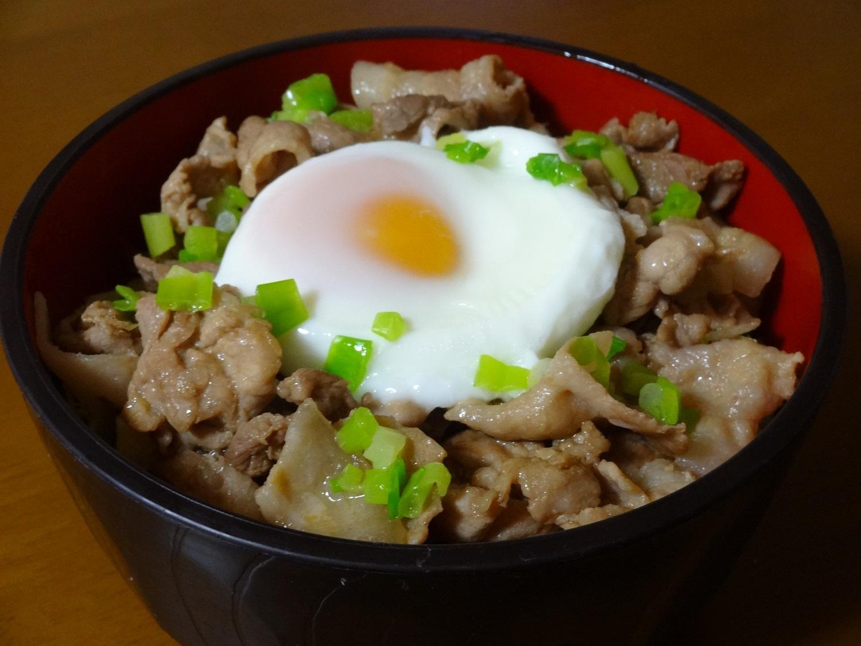 ガッツリ!!豚バラ肉のスタミナ丼