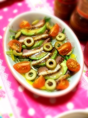 スモーク鴨サラダ