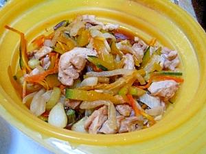 シリコンスチーマーで簡単♪鶏と野菜の煮物