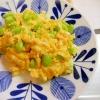 チーズ・枝豆のスクランブルエック
