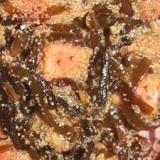 たらこと昆布の梅肉煮