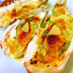 簡単ごちそう!セル牡蠣の味噌マヨチーズ焼き