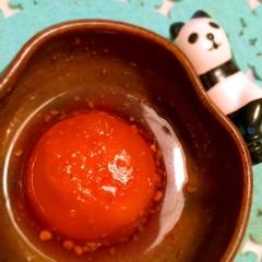 ベトナムテイスト⁈卵黄の海老塩ナンプラー漬け