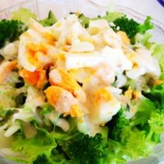 サラダが美味しくなる♪自家製シーザードレッシング