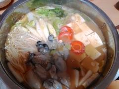 ★牡蠣と豆腐の味噌鍋★ 牡蠣がぷりっぷり!