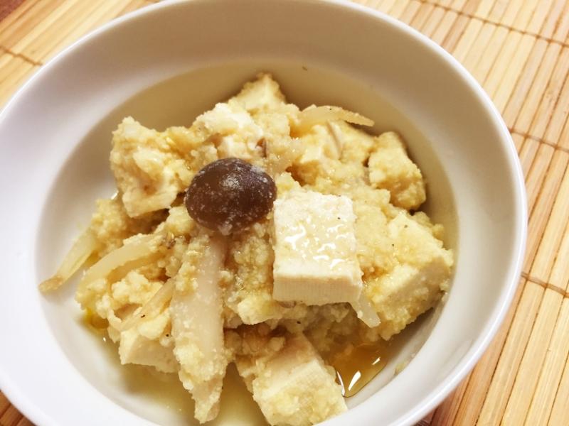 味噌汁リメイク!味噌汁で卯の花