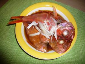 干物で簡単!!金目鯛の煮付け