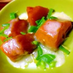 南瓜の甘辛煮リメイクチーズ焼き