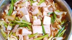 ★豆腐メインの簡単もつ鍋★ 玉葱入り~♡