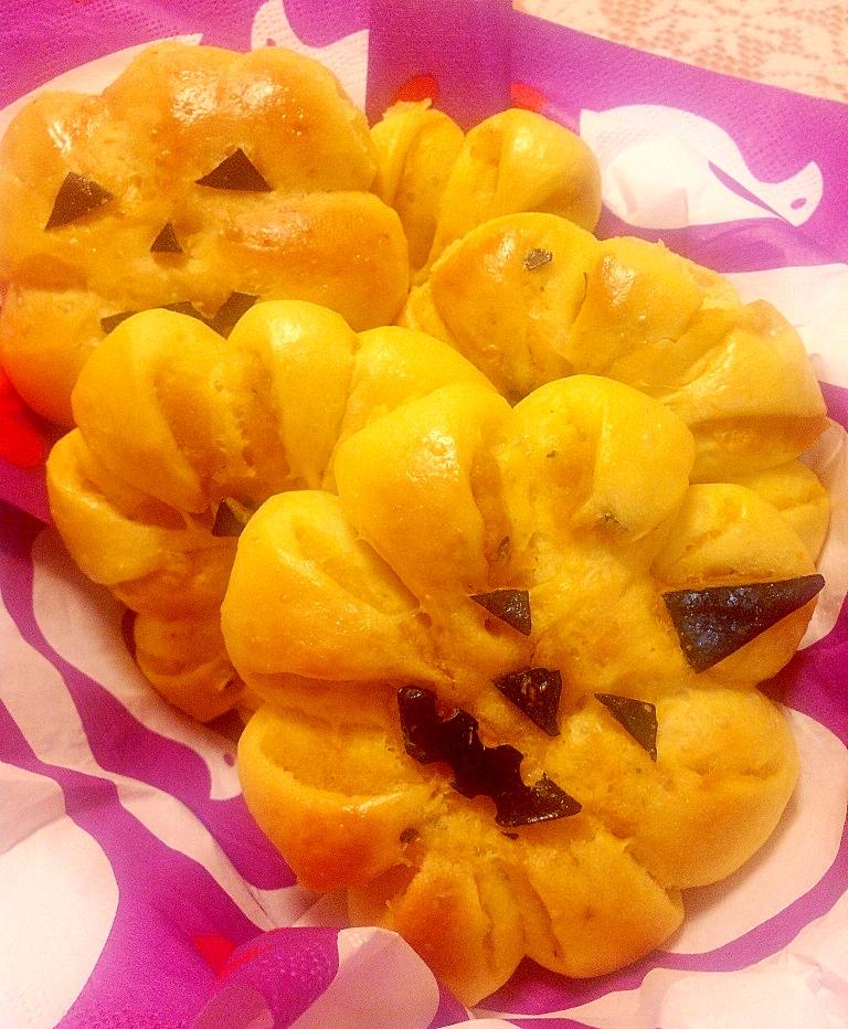 ハロウィンに♪ パン!プキン