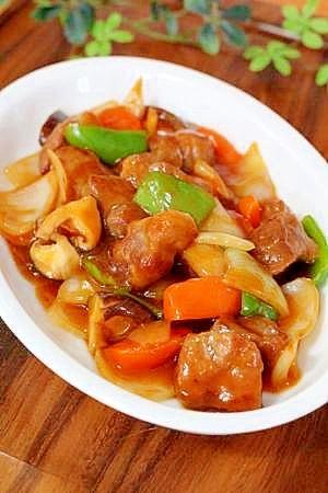 超かんたん♪中華の定番「酢豚」…味は保証付き 超かんたん♪中華の定番「酢豚」…味は保証付き レシ