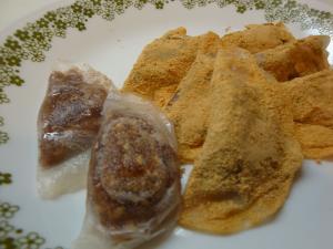 ライスペーパーで簡単和菓子 あんこ&胡麻編