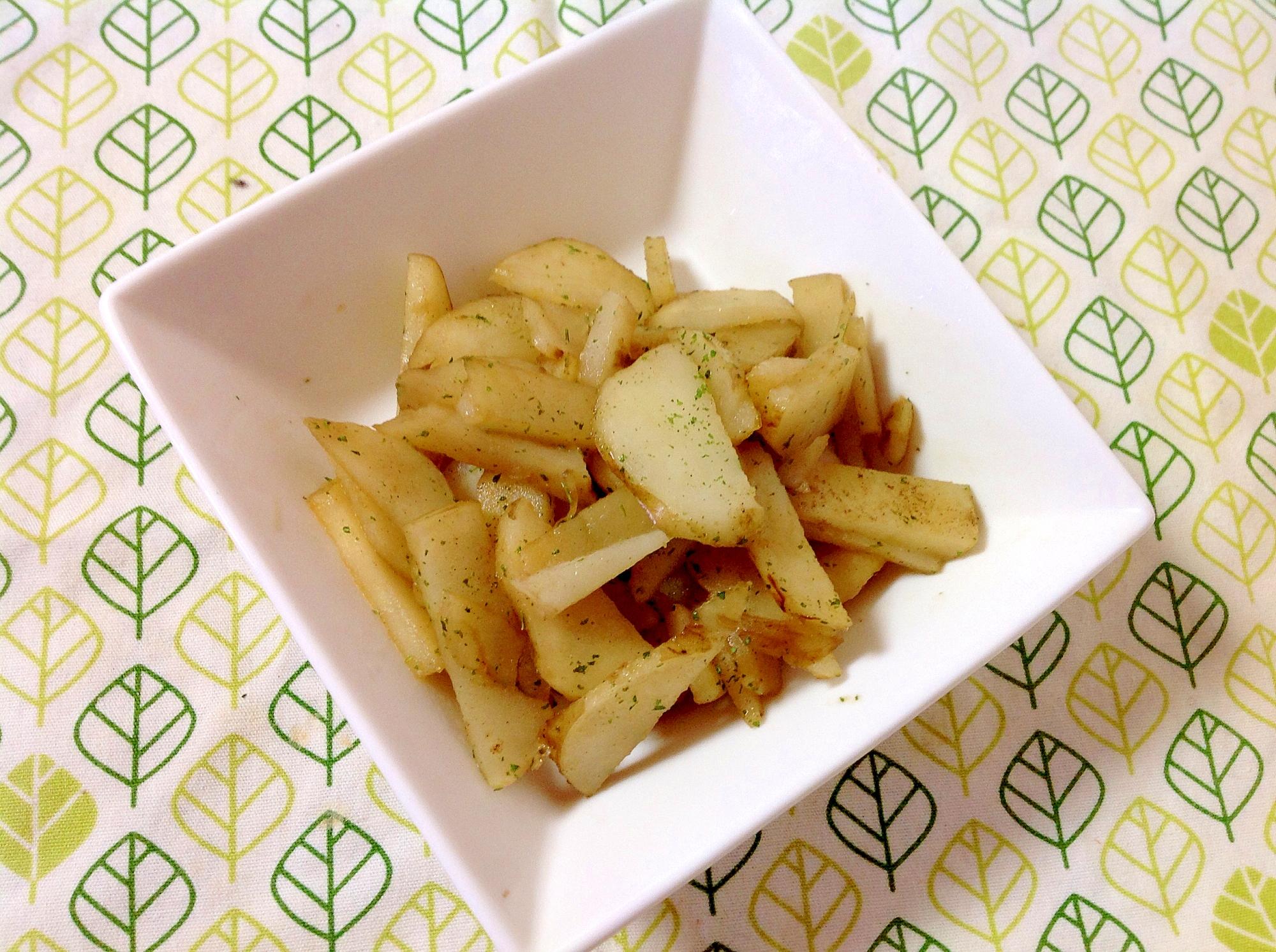 菊芋のバター醤油炒め♪(o^^o)