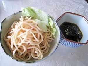 大豆麺のつけ麺