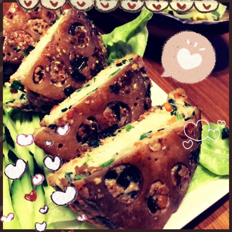 山芋シャキシャキ野菜ハンバーグ