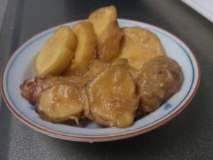 生姜と菊芋の味噌漬け