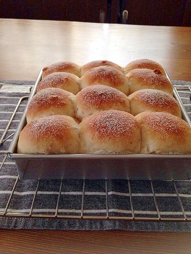 ◎HBでラクラク◎ふんわりしっとり♪ちぎり胡桃パン
