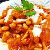 鶏肉トマトソース煮大豆入り