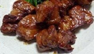 豚バラかたまり肉のこってり炒め