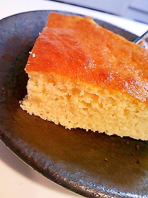 【糖質制限】ノンフライヤーでしっとりスポンジケーキ