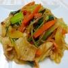 しらたきと野菜のオイスター炒め