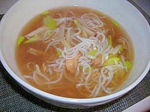 湯豆腐のスープで 優しい'ダイエットスープ'