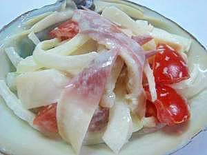ほっき貝サラダ