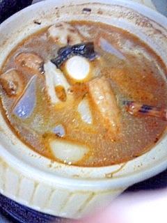 ☆キムチ鍋の残りダシで「おでん☆