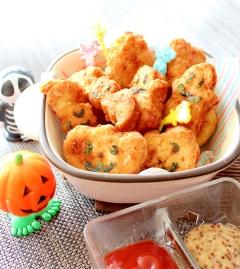 子供が大好き★鶏ひき肉で簡単チキンナゲット