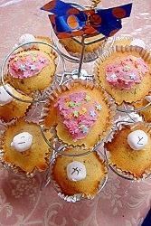 お花見にピッタリ桜カップケーキ