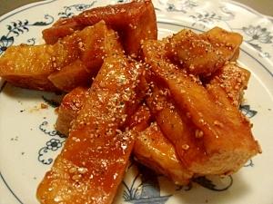 楽天レシピ:「高野豆腐で名古屋風手羽先 」より