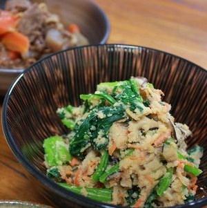 小松菜のおから
