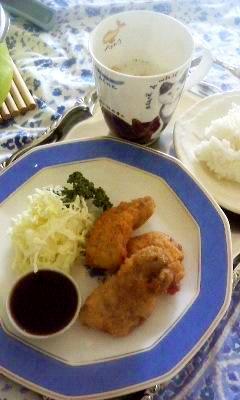鶏の「塩レバー」と「塩レバーフライ」