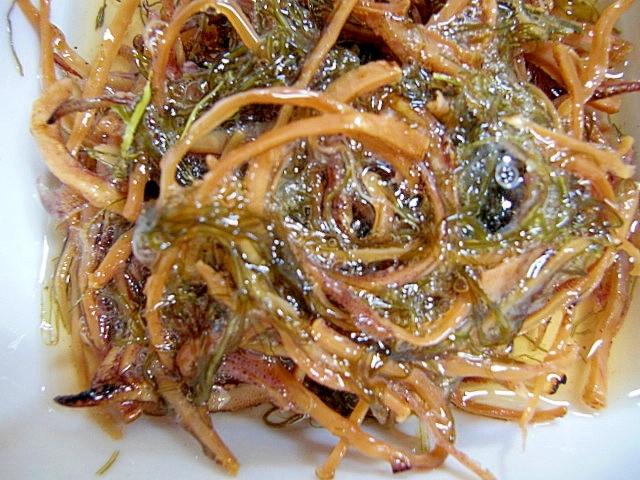干しスルメとがごめ昆布の酢漬け レシピ・作り方 by hime,tarako|楽天レシピ