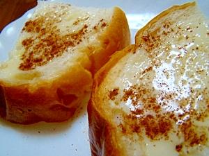 シナモン練乳トースト