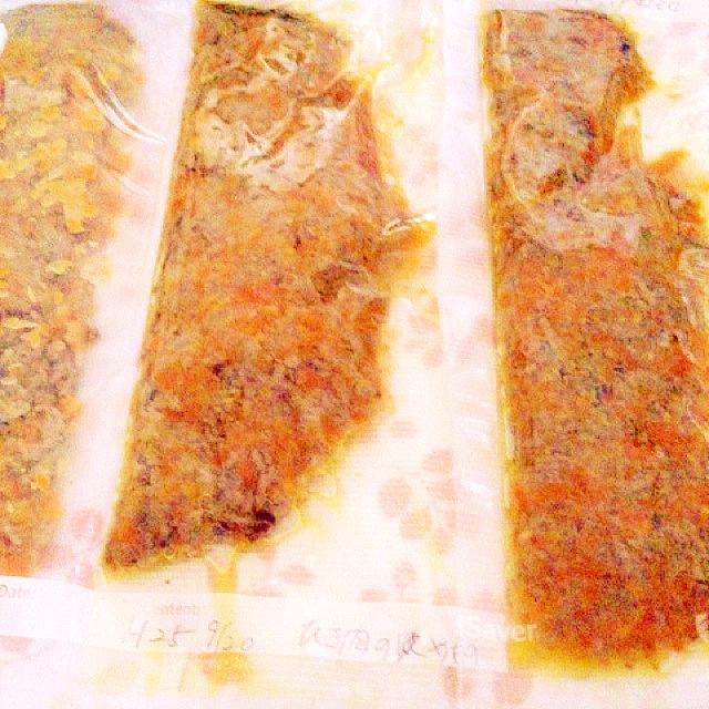作り置きの冷凍保存(合挽きミンチ)
